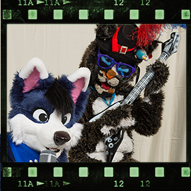 Eurofurence 2016 fursuit photoshoot. Preview picture of Michiber, jashi