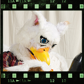 Eurofurence 2016 fursuit photoshoot. Preview picture of Art-Gryphon