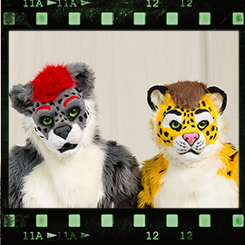 Eurofurence 2016 fursuit photoshoot. Preview picture of Kiro, Yellow