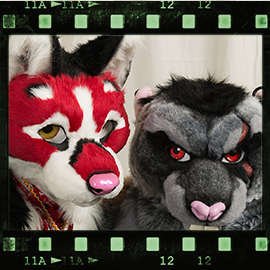 Eurofurence 2016 fursuit photoshoot. Preview picture of Kokanee, Brutus