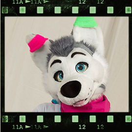 Eurofurence 2016 fursuit photoshoot. Preview picture of Happy