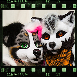 Eurofurence 2016 fursuit photoshoot. Preview picture of Vytani, Skrat