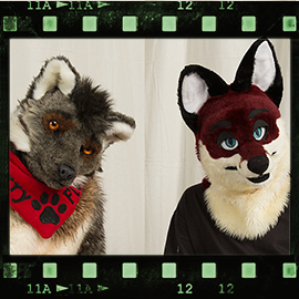Eurofurence 2016 fursuit photoshoot. Preview picture of Christian, FlurryFlecky
