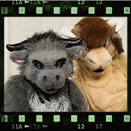 Eurofurence 2016 fursuit photoshoot. Preview picture of Darthank, naalik
