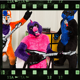 Eurofurence 2016 fursuit photoshoot. Preview picture of Soturo, Sander, PainFree