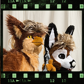 Eurofurence 2016 fursuit photoshoot. Preview picture of ismatori, Crupier