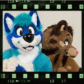 Eurofurence 2016 fursuit photoshoot. Preview picture of Elvin, Jason