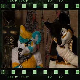 Eurofurence 2017 fursuit photoshoot. Preview picture of Flat Spots, OLLISTER, Timothy